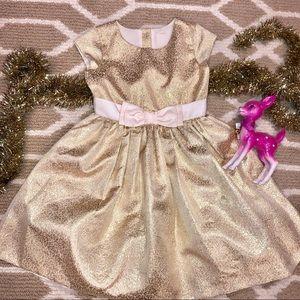 Gymboree gold holiday dress! Gorgeous! Sz 10